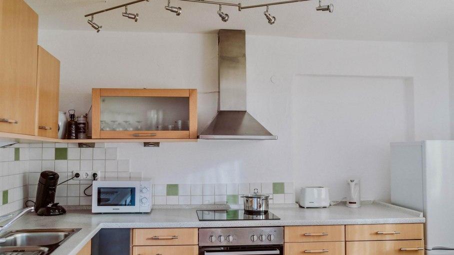 Appartement B - Küche