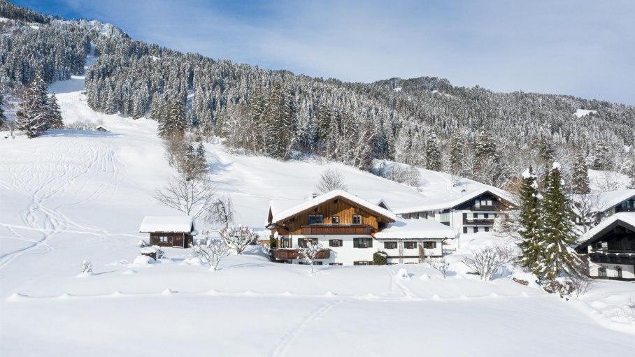 Winter im Gästehaus Renn in Bolsterlang im Allgäu, © Gästehaus Renn