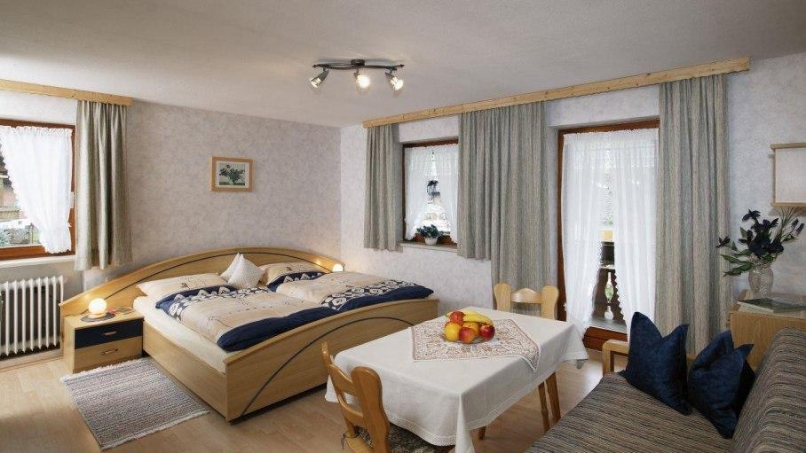 Dreibettzimmer, © Ferienhof Meßmang - Fischen i. Allgäu