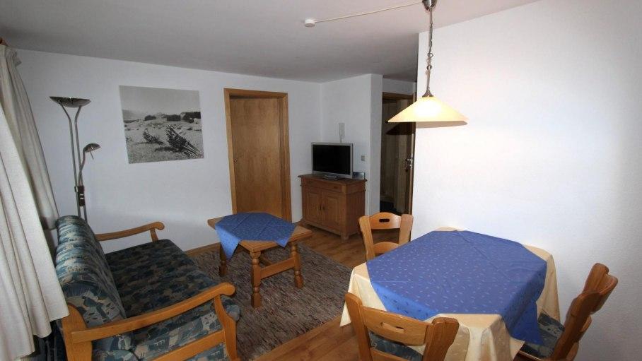Ferienwohnung 4 - Wohnzimmer, © Gästehaus Hagelmüller - Fischen i. Allgäu