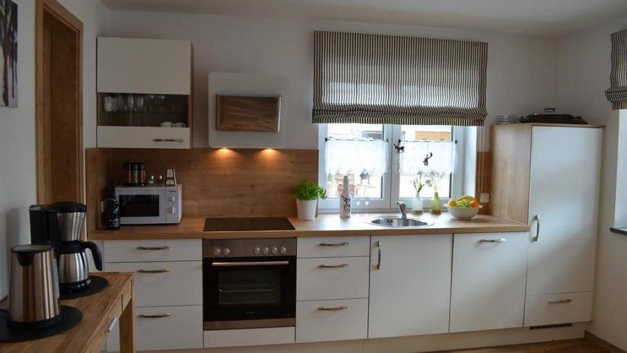 Vollausgestattete Küche in der Fewo Rubihorn, © Alexa Ferienwohnungen in Fischen