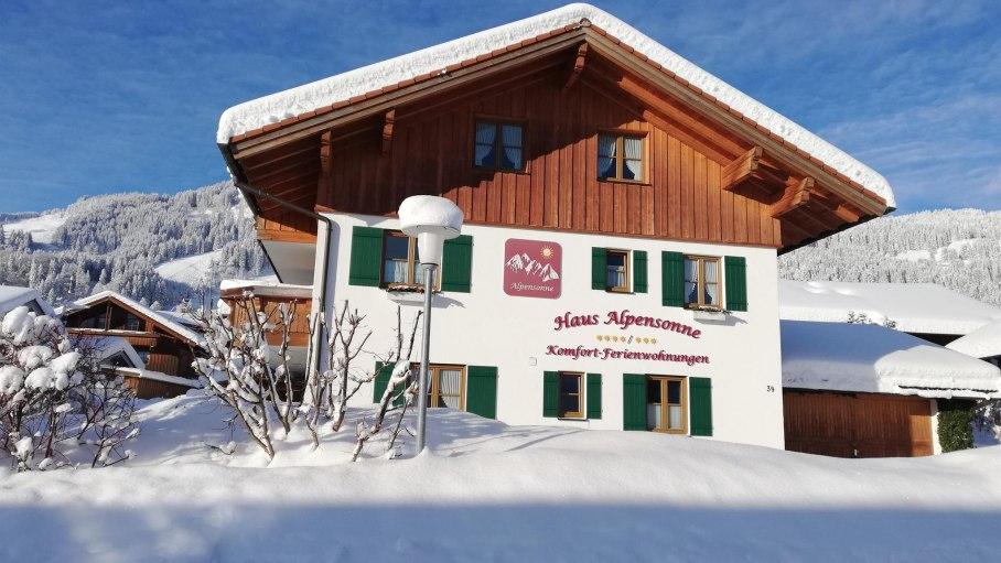 Winter, © Haus Alpensonne-Bolsterlang