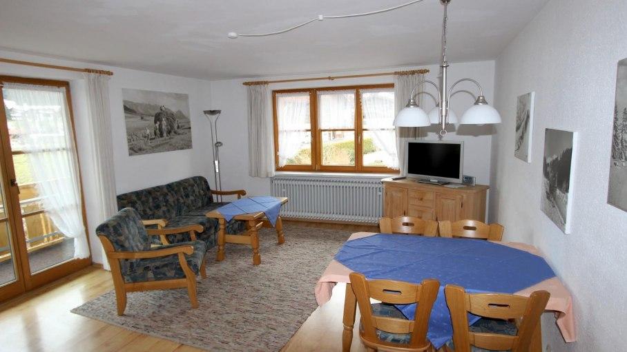 Ferienwohnung 5 im Gästehaus Hagelmüller, © Gästehaus Hagelmüller - Fischen i. Allgäu