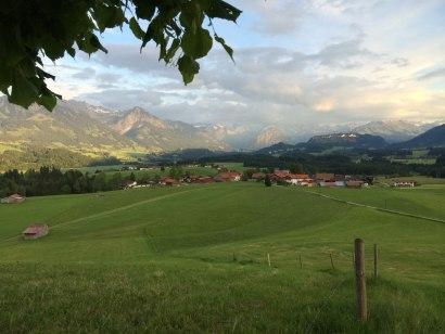 Aussicht von der Wittelsbacher Höhe