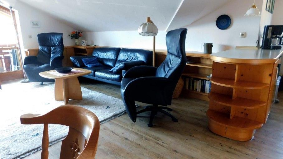 Wohnzimmer, © Ferienwohnung Eppler - Bolsterlang