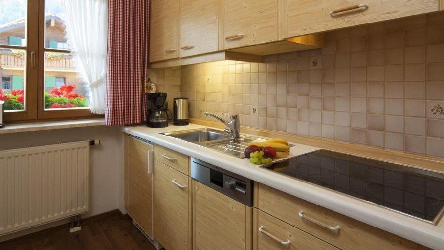 Ferienwohnung 2 - Küche, © Landhaus Exclusiv - Bolsterlang