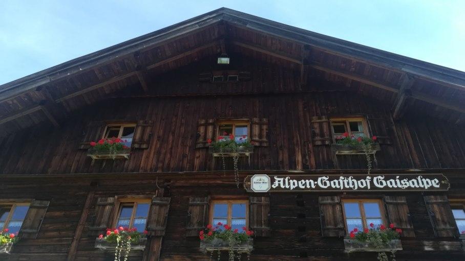 Alpen-Gasthof Gaisalpe - lohnenswertes Ziel