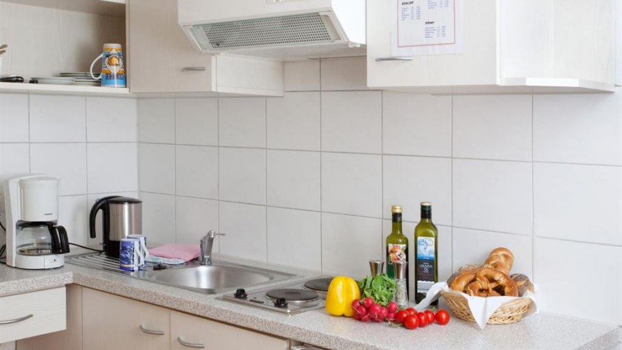 Appartement 2 - Küche, © Gästehaus Kanstein - Ofterschwang