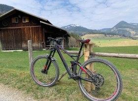 Drei-Dörfer-Radrunde bei Bolsterlang, Obermaiselstein und Fischen