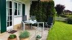 Ferienwohnung 1 - Terrasse, © Landhaus Exclusiv - Bolsterlang