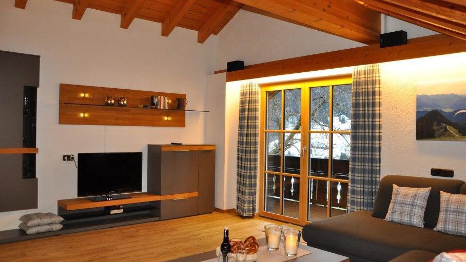 Ferienwohnung Wannenkopf - Wohnraum