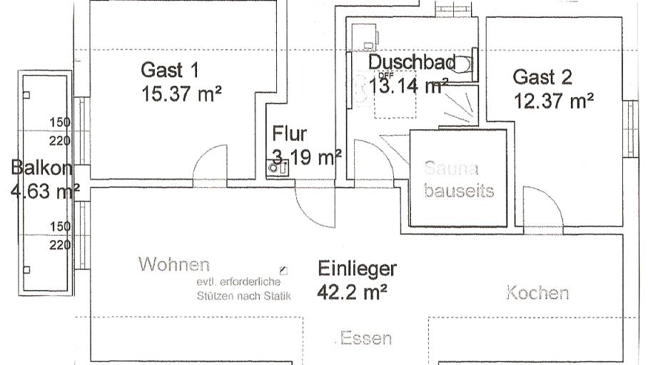 Grundriss, © Bergblick Lodge - Ofterschwang