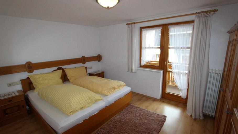 Ferienwohnung 3 - Separates Schlafzimmer, © Gästehaus Hagelmüller - Fischen i. Allgäu