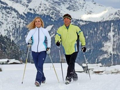 Winterwandern Hochwiesweg Runde - Ofterschwang