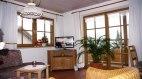 Wohnraum in der Fewo 3, © Ferienhaus Enzian - Fischen i. Allgäu