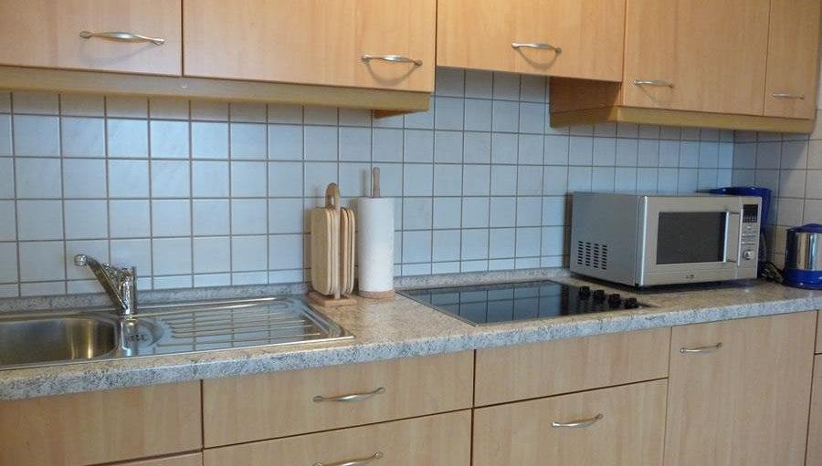 Ferienwohnung Grüntenblick - Küche, © Ferienhof Bietsch - Ofterschwang