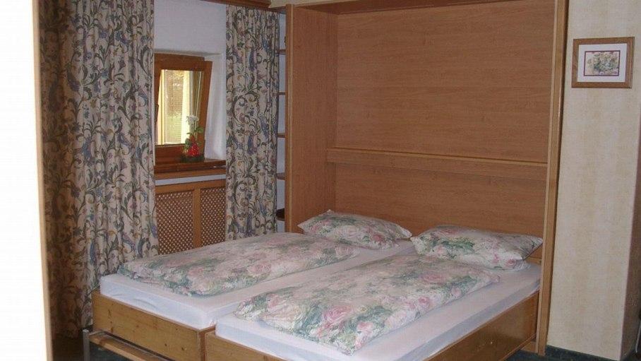 Ferienwohnung Huigarde, Schrankbett offen