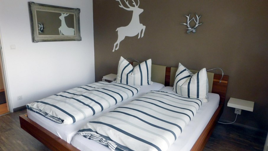 Schlafzimmer, © Ferienwohnung Entschenkopf