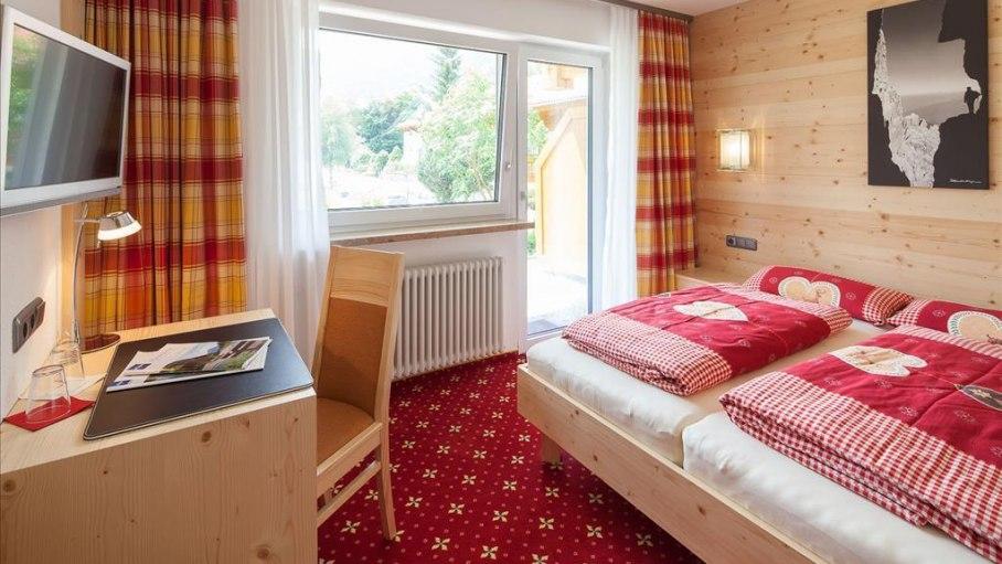 Doppelzimmer Stillach, © Gästehaus-Pension Hörnerblick