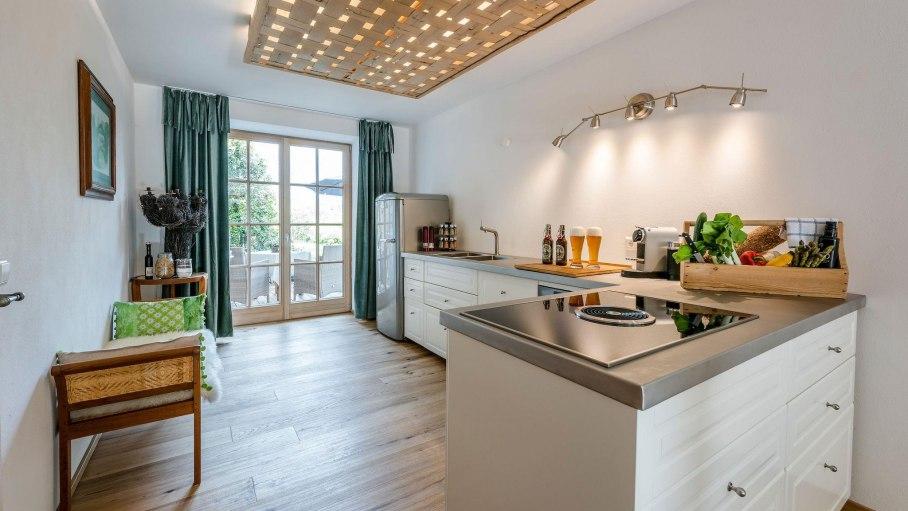 Garden Lodge - Küche, © Garden Lodge - Essecke