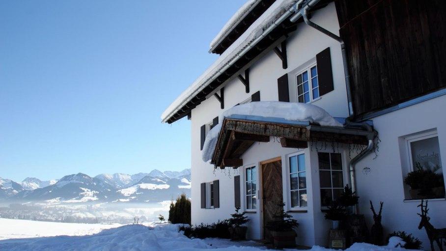 Traumhafte Aussichten, © Alpen Lodge Allgäu - Ofterschwang