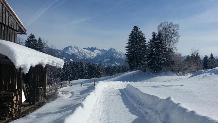 Winterspaziergang, © Landhaus Exclusiv - Bolsterlang