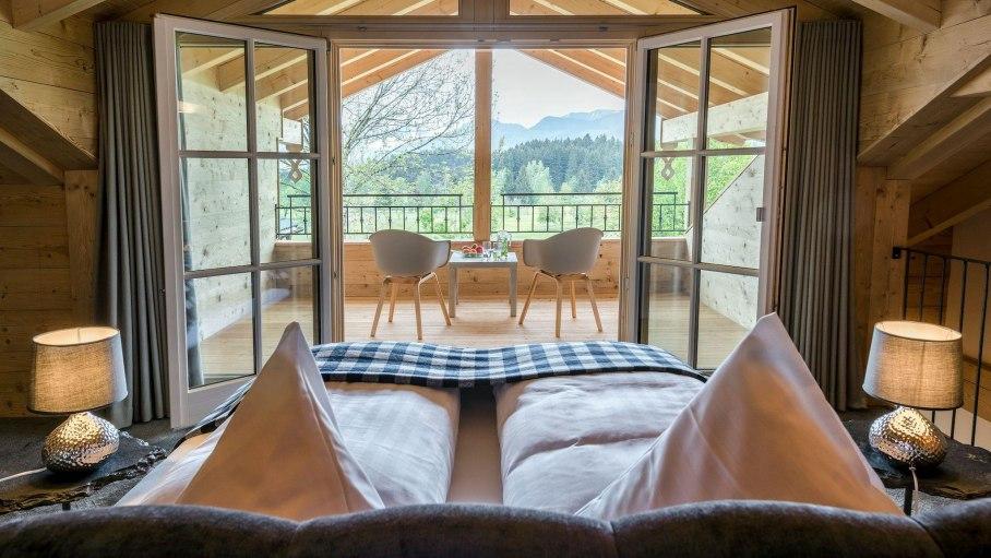 Blue Lodge - Aufwachen mit Aussicht, © Das Talgut - Ofterschwang