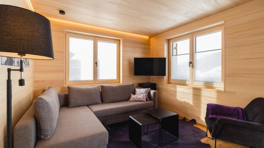 Wohnzimmer TV und Multimediaanlage