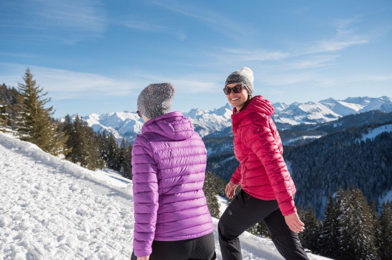 Winterwandern in den Hörnerdörfern, © Tourismus Hörnerdörfer, F. Kjer