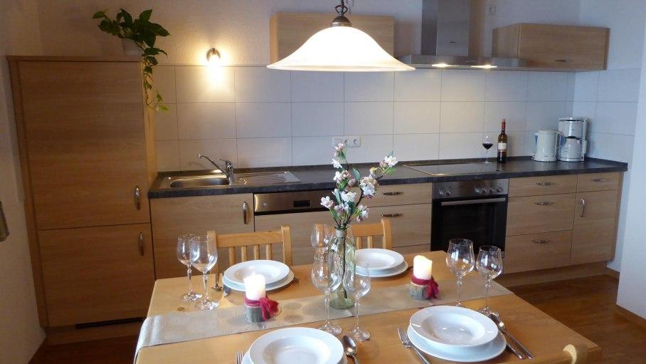Küchenzeile, © Ferienwohnung Steiner - Bolsterlang