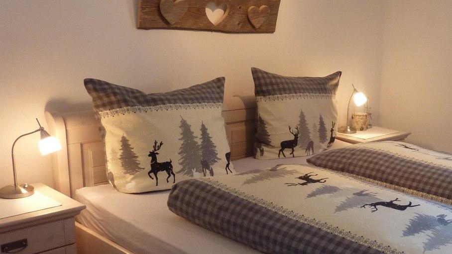Schlafzimmer Ferienwohnung Auenwiese