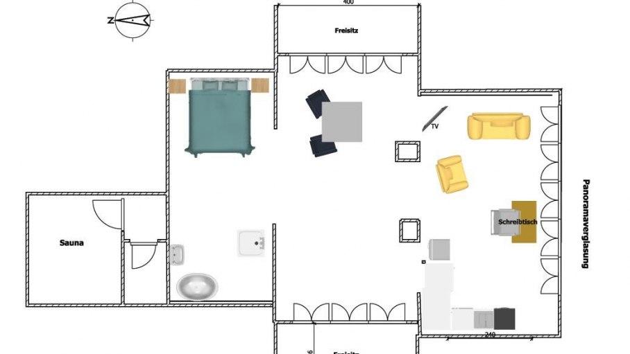 Esprit Lodge - Grundriss, © Das Talgut - Ofterschwang