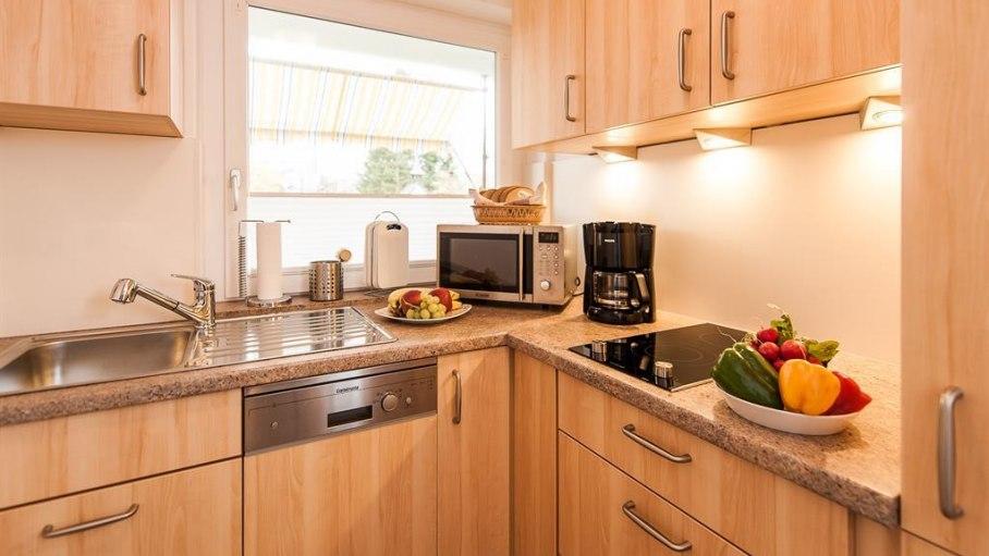 Küche, © Ferienwohnung-Vermietung
