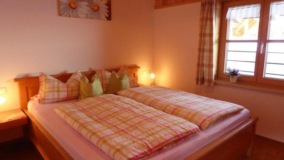 Schlafzimmer 2, © Ferienwohnung Steiner - Bolsterlang