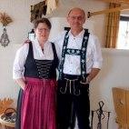 Ihre Gastgeber Claudia und Jochen Schneider