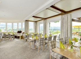 Unser Panoramarestaurant, © Hotel Alpenblick