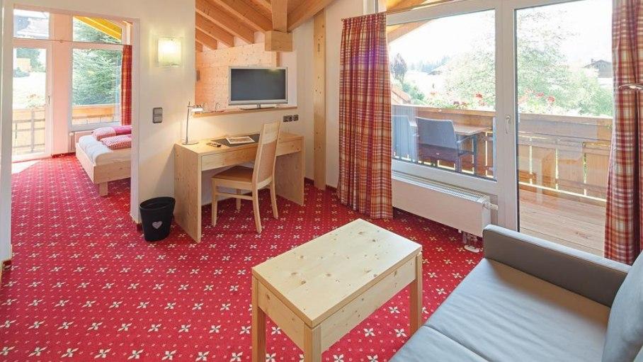 Appartement Ostrach, © Gästehaus-Pension Hörnerblick