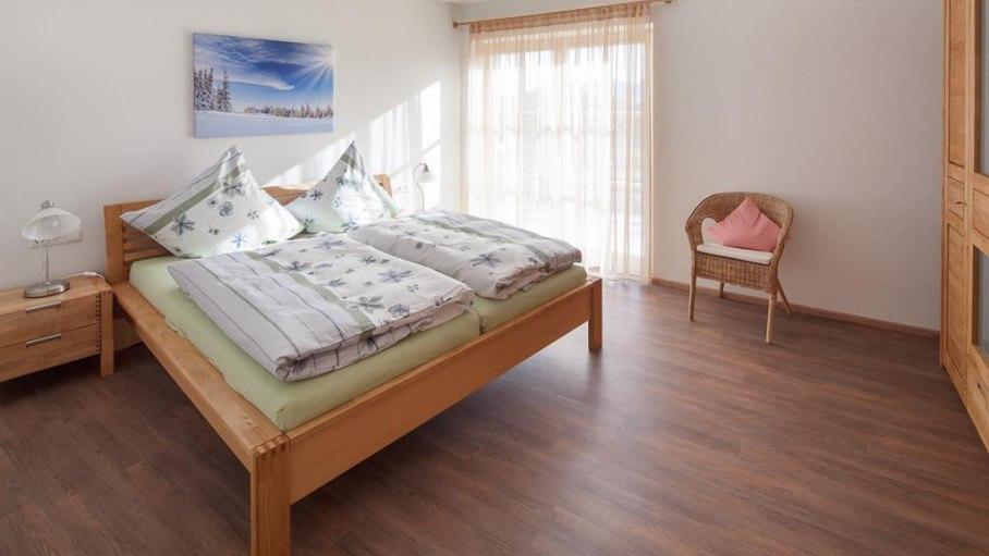 Ferienwohnung Weiherkopf - Schlafzimmer 1, © Ferienwohnungen