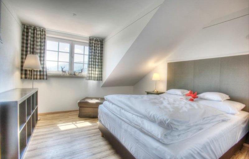 Ferienwohnung Alpentraum - 2. Schlafzimmer, © Alpen Lodge Allgäu - Ofterschwang