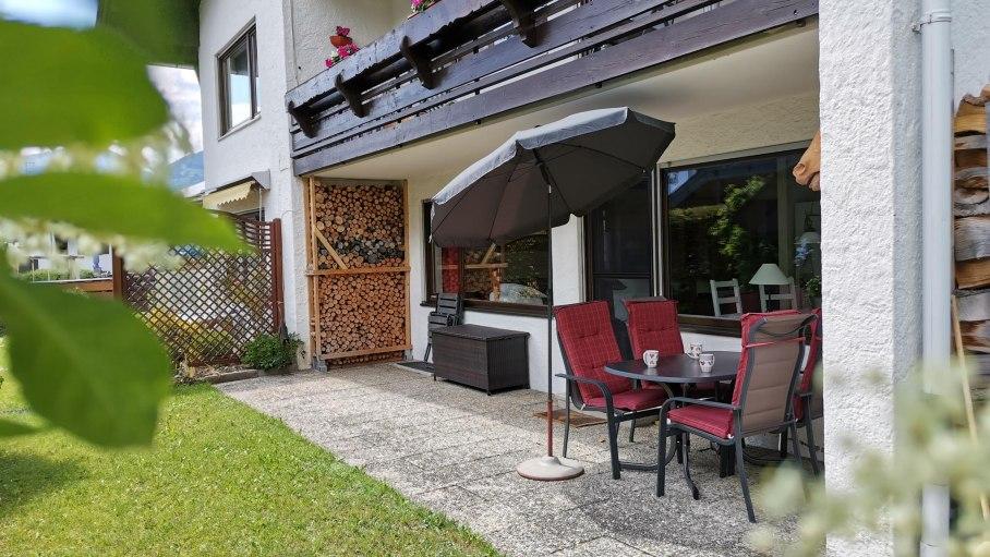 Terrasse Auenwiese