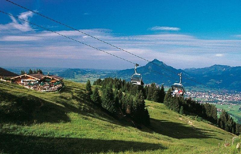 Bergbahn Ofterschwang, © Tourismus Hörnerdörfer