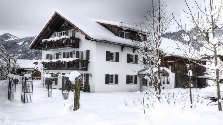Teif verschneit im Allgäu, © Alpen Lodge Allgäu - Ofterschwang