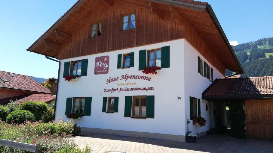 Haus Alpensonne, © Haus Alpensonne - Bolsterlang