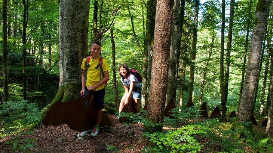 Sagenweg - der Drache im Wald