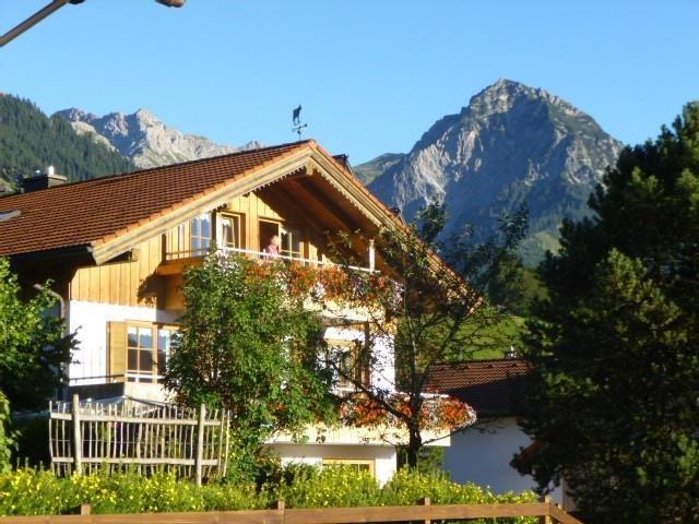 Wohnung Nr. 6 - ganz oben, © Ferienhaus Enzian - Fischen i. Allgäu