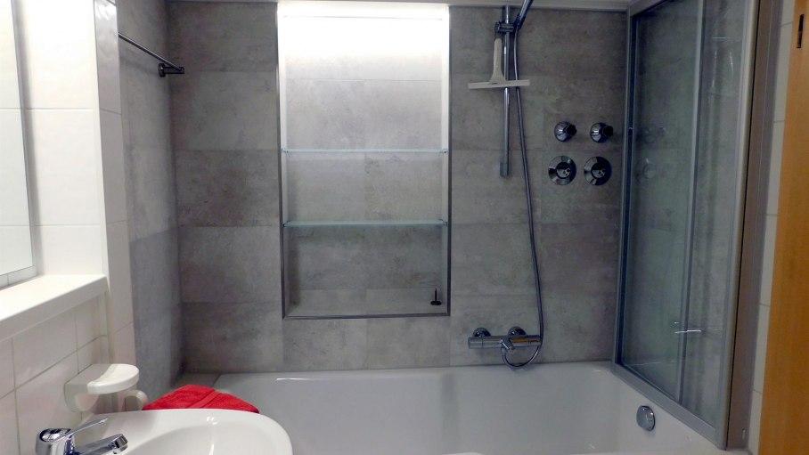 Dusche, © Ferienwohnung Eppler - Bolsterlang