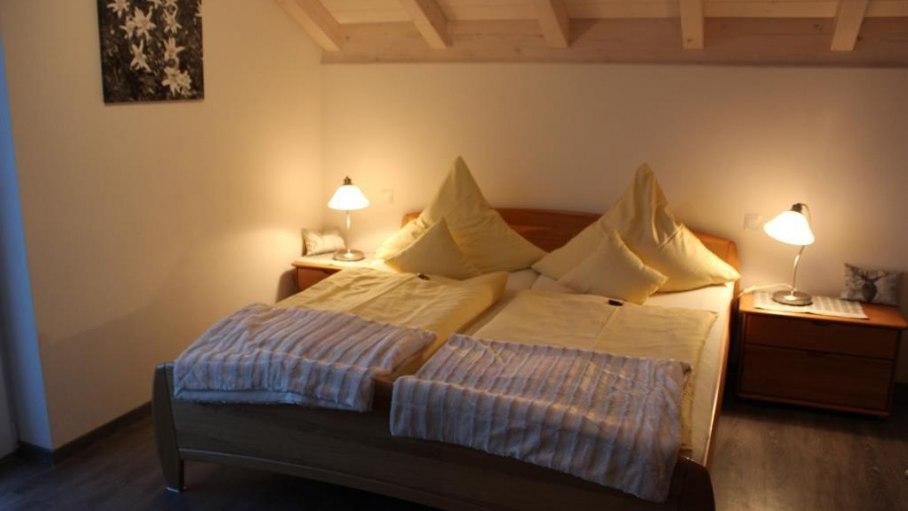 1. Schlafzimmer, © Bergblick Lodge - Ofterschwang