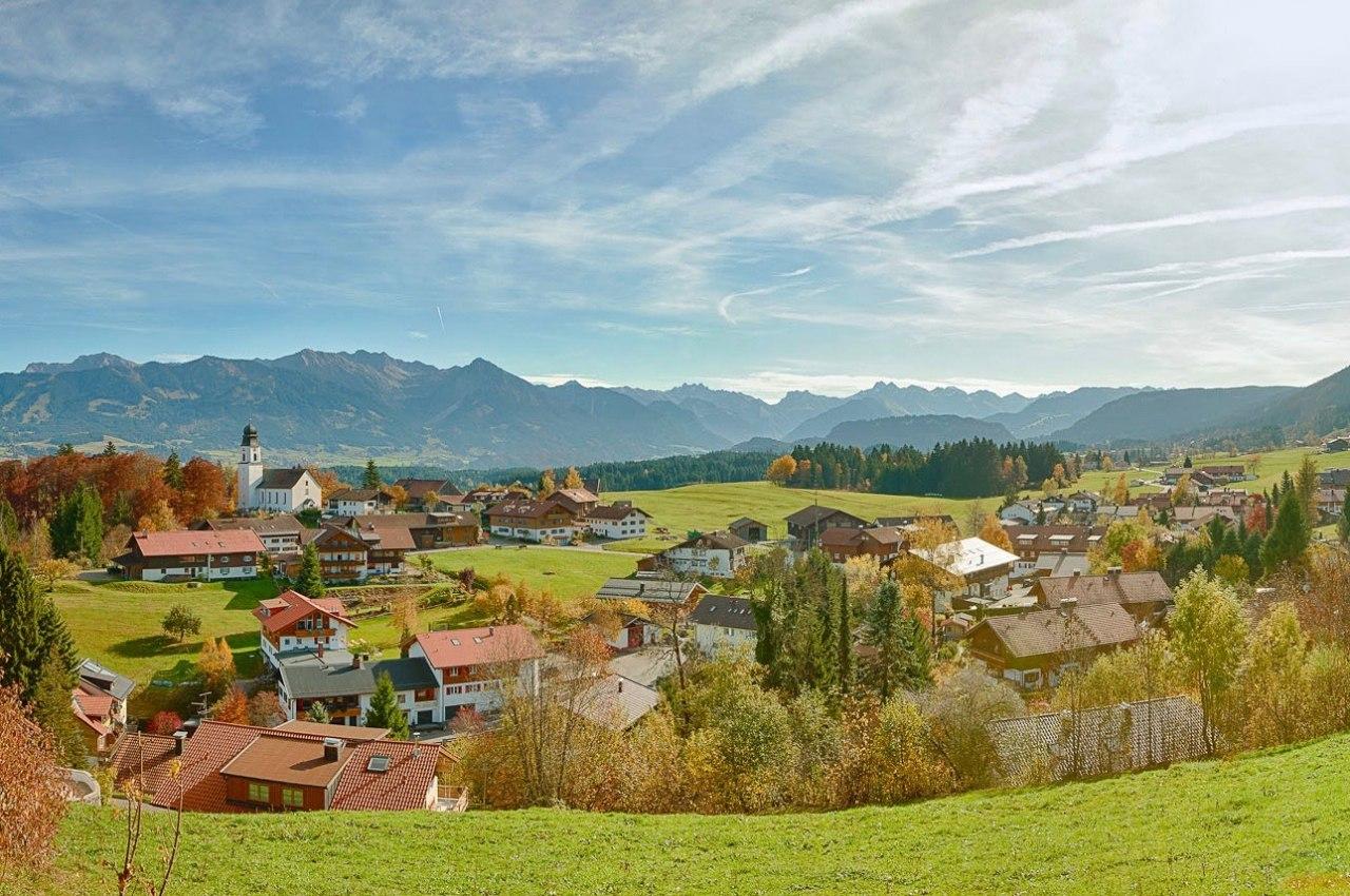 Wandern in Ofterschwang im Allgäu. Wanderurlaub in Bayern., © Tourismus Hörnerdörfer / ProVisionMedia