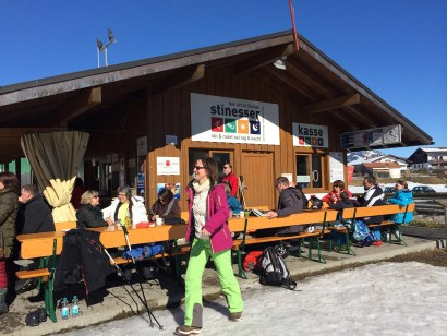 Liftstadl in Fischen - direkt am Stinesser Skilift, © Neumann Grafik