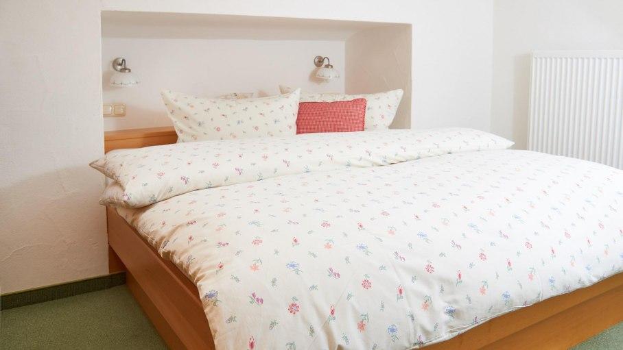 Schlafzimmer Weitblick-Haus Bergland, © Cocett